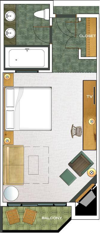 Pointe West Deluxe floorplan