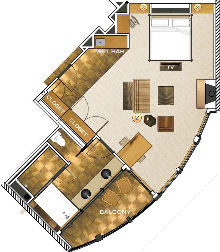 Canopy Suite floorplan