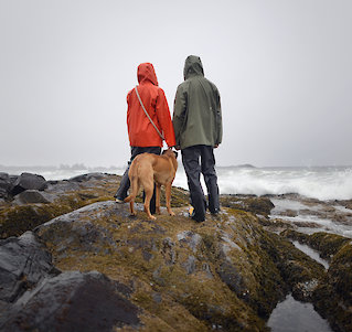 Storm Watching Couple