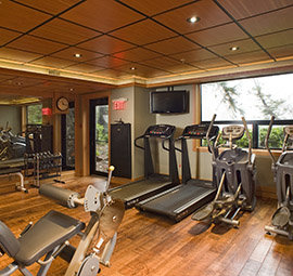 Fitness Room Beach Building